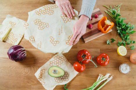 bee's wrap bijenwasdoek Bag-again zero waste webshop