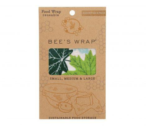 bee's wrap assorted forest floorbijenwasdoek Bag-again zero waste webshop
