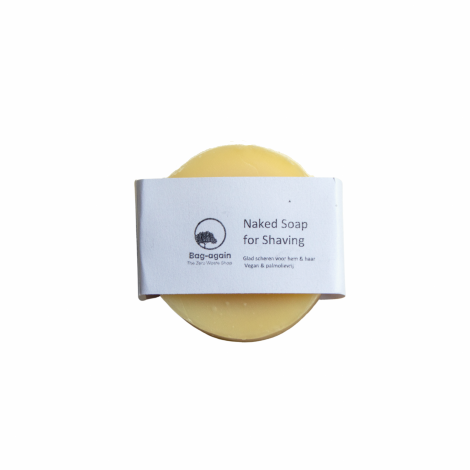 naked soap for shaving Bag-again zero waste webshop
