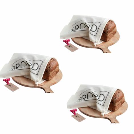 katoenen broodzak Bag-again zero waste webshop