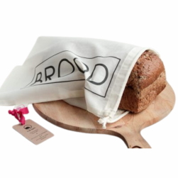katoenen broodzak S BROOD Bag-again zero waste webshop