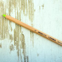 lyra geel-1325 bag-again, zero waste, houten highlighter potlood
