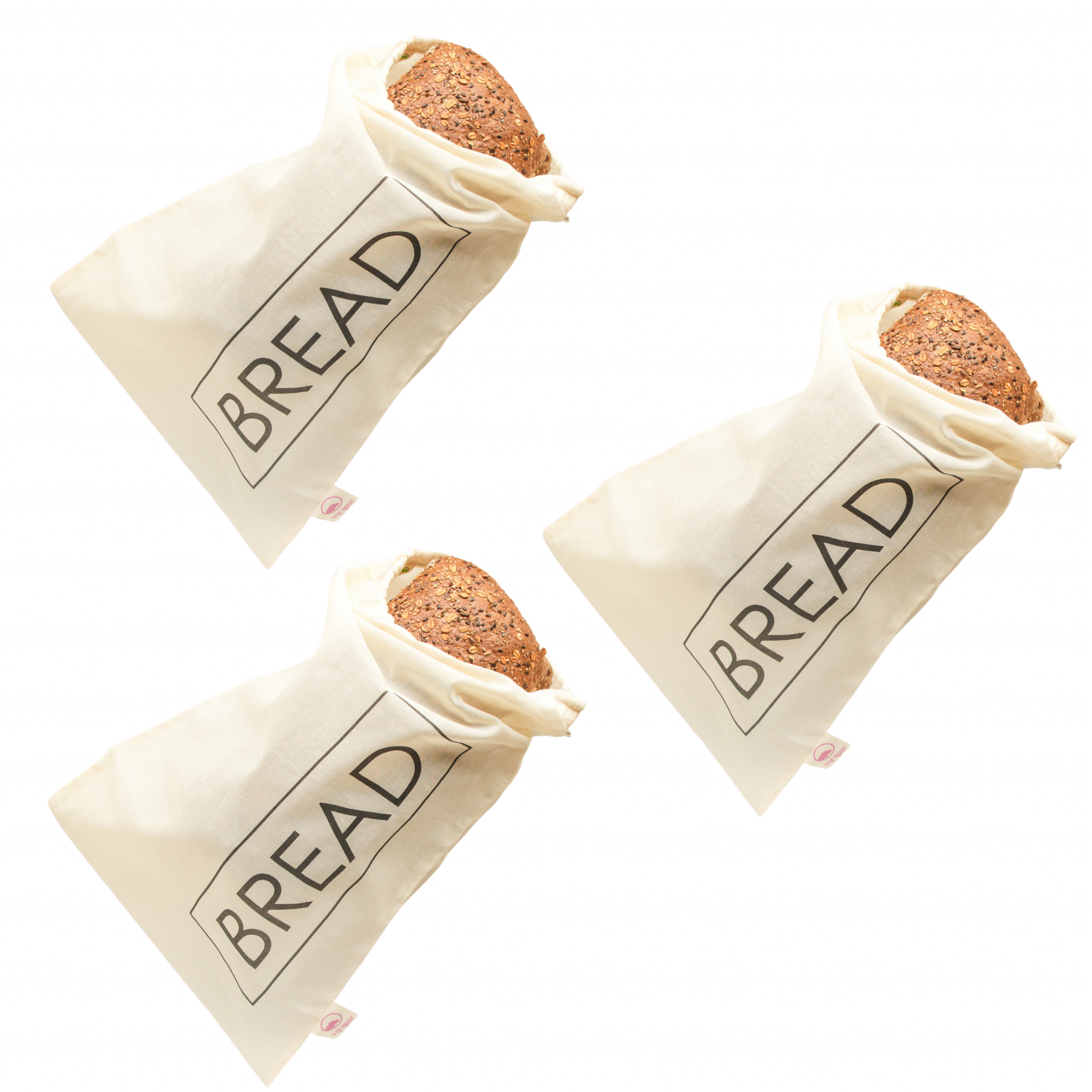 3 x breadbag L BREAD Bag-again zero waste webshop