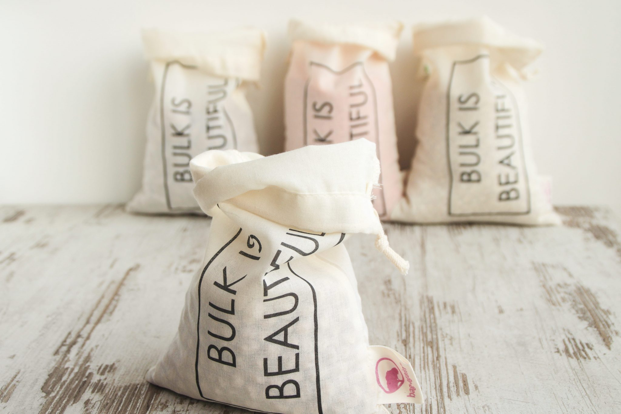 bulkzakje, bulkbag, bag-again, the zero waste shop, organic cotton, biologisch katoen, GOTS, zero waste