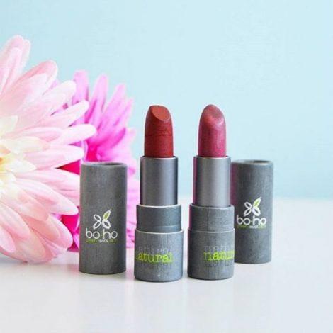 Boho lipstick Poppy fields glans life 313 Bag-again zero waste webshop