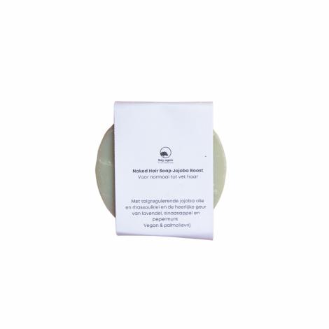 naked hairsoap jojoba boost Bag-again zero waste webshop