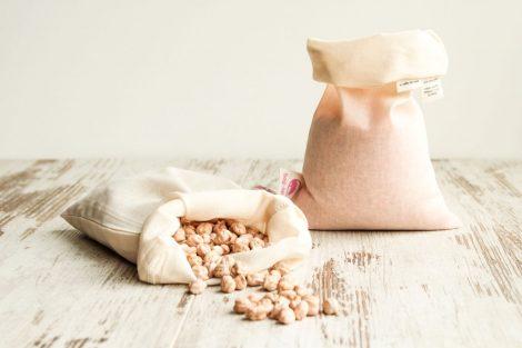 bulkzakjes onbedrukt 1 bag-again, zero waste webshop katoenen zakje, biologisch katoen
