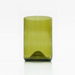 glass amber Rebottled, bag-again, zero waste shop