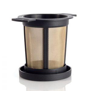 herbruikbaar theefilter, rvs theefilter, tea basket, bag-again, zero waste webshop