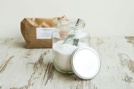 baking soda 1 kg in papier, bag-again, zero waste shop