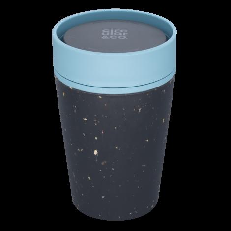circular cup black teal blue Bag-again zero waste shop