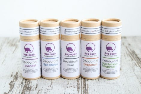 deodorant stick papier van Bag-again, zero waste webshop