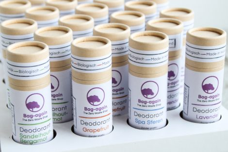 Bag-again deodorant stick in papier, zero waste webshop