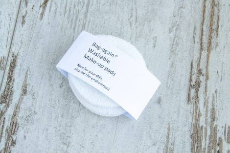 wasbare make up pads, white, bag-again, zero waste webshop