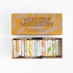 werfzeep cadeaudoos met 18 minizepen, Bag-again Zero waste webshop