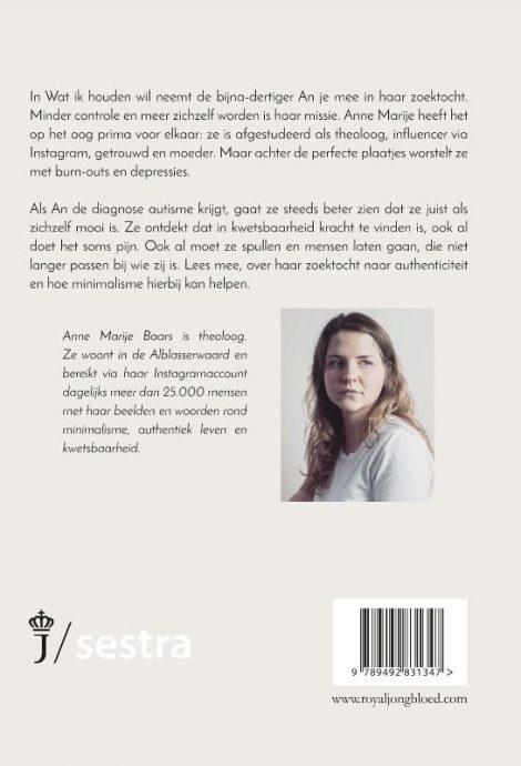 boek wat ik houden wil , anne marije baars Bag-again zero waste webshop