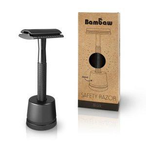 safety razor black bambaw, Bag-again zero waste webshop