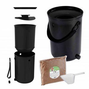 Bokashi ocean zwart Bag-again zero waste webshop