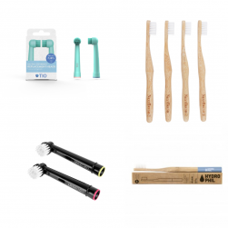 Bamboe tandenborstels en opzetborstels voor Oral-B