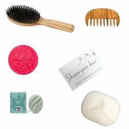 Haar! Borstels, kammen en shampoobars