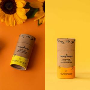 happysoaps zonnebrand creme Bag-again zero waste webshop