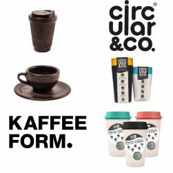 To go mokken: Circular Cup, NOW cup en Kaffeeform