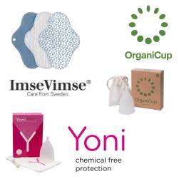 Zero waste menstruatieproducten